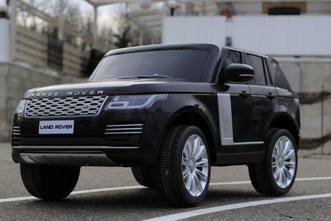 Masinuta electrica pentru 2 copii Range Rover Vogue HSE NOUA #Negru