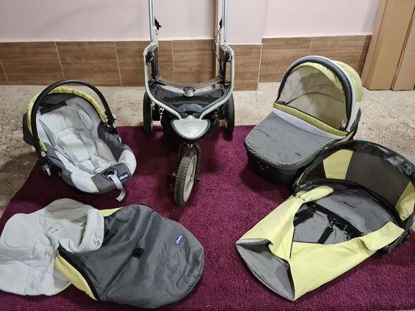 Детска количка Chicco trio S3