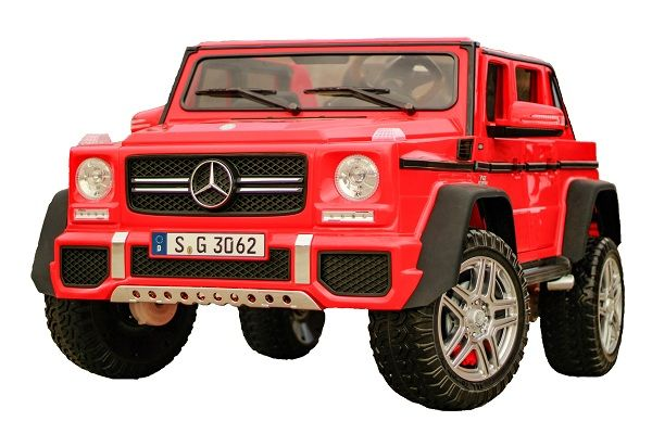 Kinderauto Mercedes G650 MAYBACH DELUXE #RED