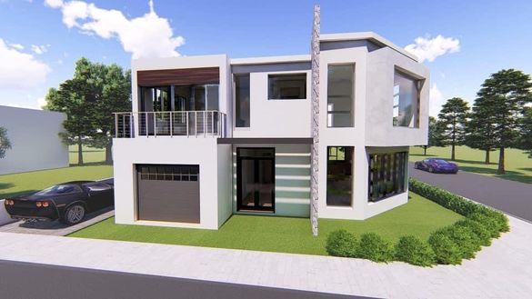 Парцел за самостоятелна къща с идеен проект