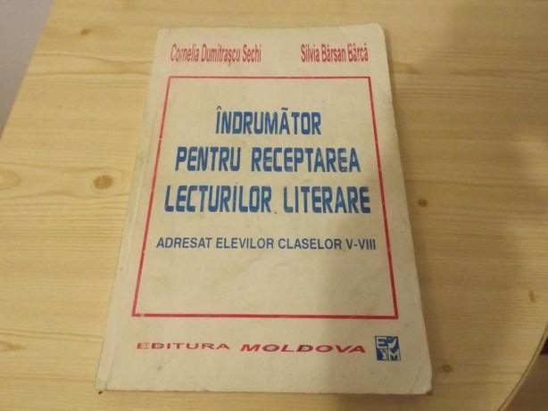 Indrumar pentru receptarea lecturilor literare
