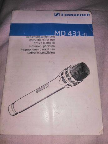 Sennheiser MD 431 -II микрафон
