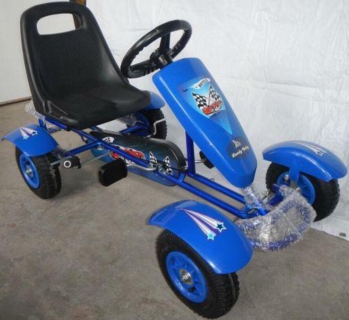 499lei!Kart cu pedale pentru copii ,roti cauciuc aer,scaun reglabil