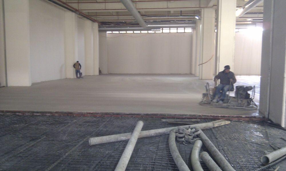 Pardoseli industriale din beton elicopterizat sau rasini epoxidice Targoviste - imagine 1