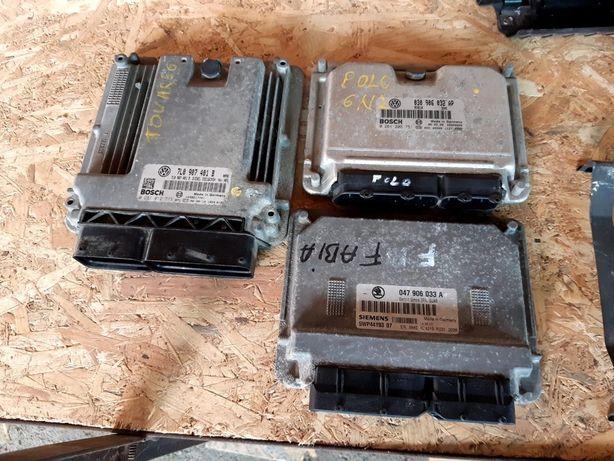 Calculator motor/Ecu Vw Touareg 3.0, Polo 6n2, skoda fabia 1.4 benzina
