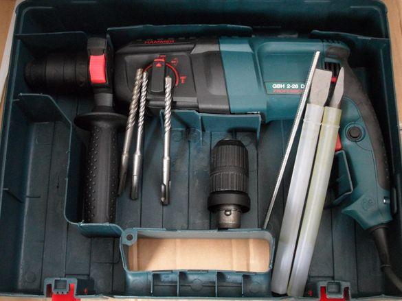 Перфоратор,къртач,бормашина 800W ударно пробивен в куфар