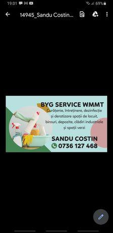 Firma de curatenie Byg Services W.M.M.T executam lucrari de curatenie