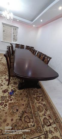 Продам стол 5 метр с 20 стульями