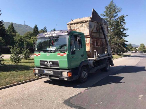 Предлагаме контейнери за строителни отпадъци в Г. София Асови Груп ООД
