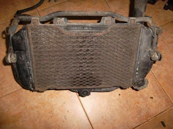 Радиатор + стойка за Yamaha TDM 850 3VD 1991 - 1996г.