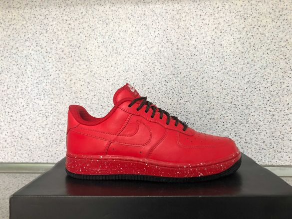 """ОРИГИНАЛНИ *** NikeID Air Force 1 Low Leather / Red Angel """""""""""