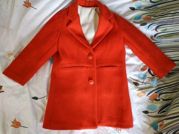 Пальто детское, рост 116