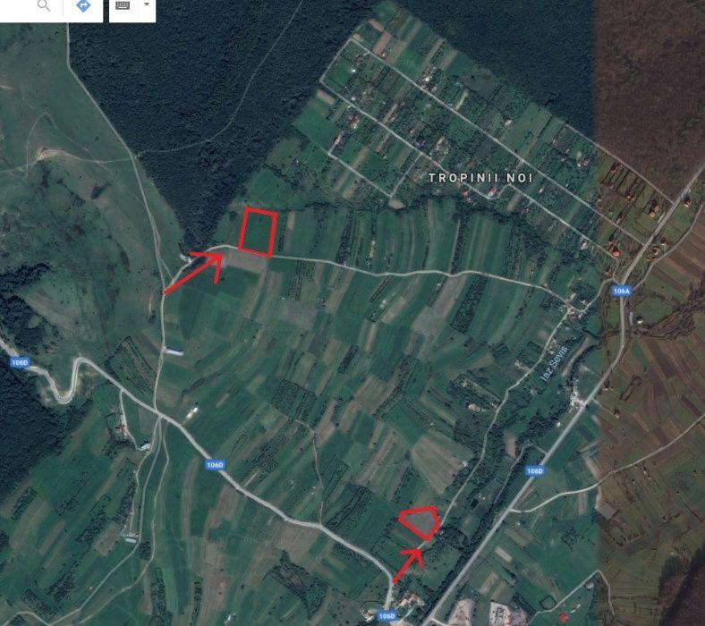 Vand 7000mp teren in Rasinari, Tropini vechi, 6km de Poplaca 8km Sibiu
