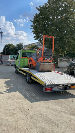 Tractari Auto Non-Stop  Închiriez buldoexcavator