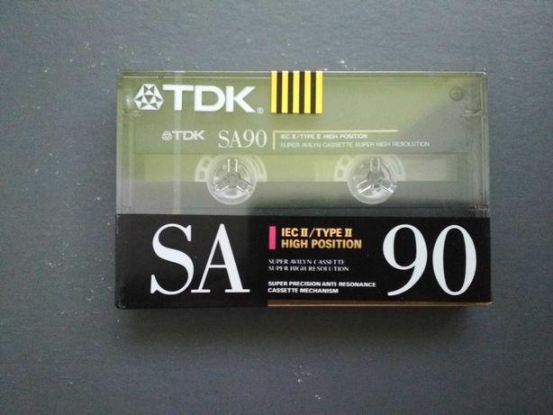 Casete TDK SA 90  (1990-91) sigilate