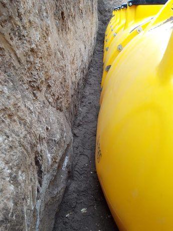 Бочка, мега емкость, резервуар для подземной установки от 6000 л