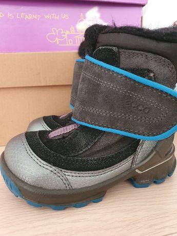 ecco biom hike infant зимние сапоги