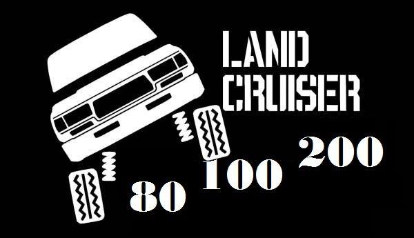 Запчасти КРУЗАК LAND CRUISER 80c 100c 200c по кузову...