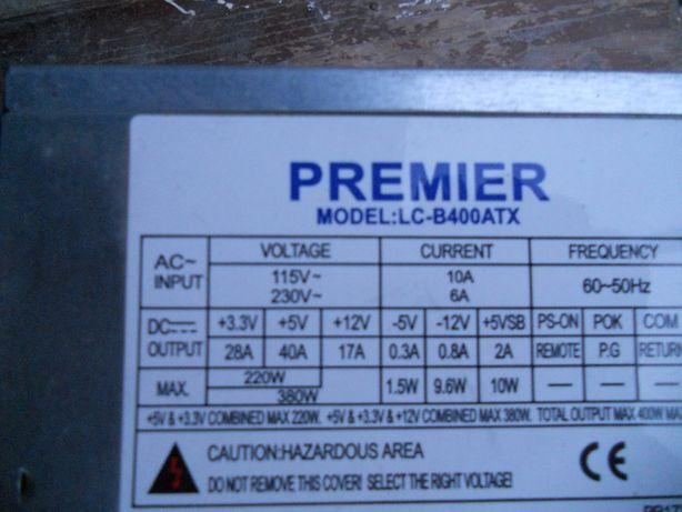 Vand sursa calculator PREMIER MODEL LC-B400ATX