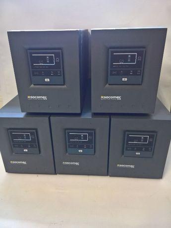 UPS Socomec 1000Va -5бр., с батерии Цената е с вкл ДДС и гаранция