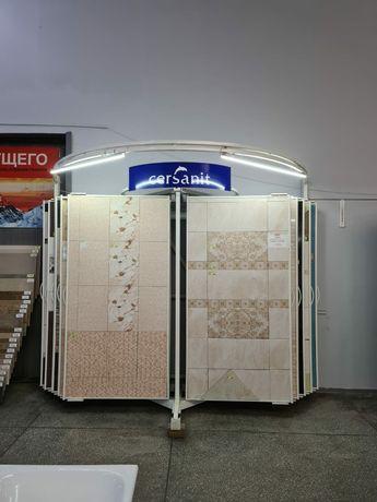 Стенд стеллаж книжка для плитки и других листовых материалов