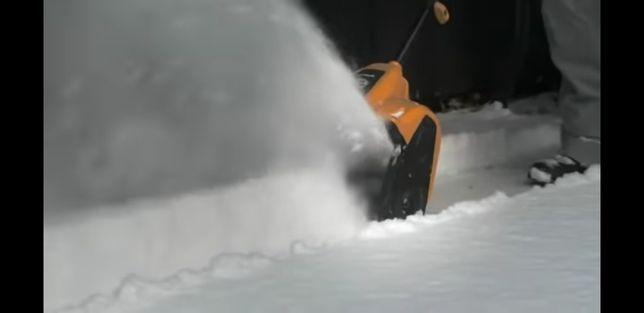 Lopată electrică de zăpadă
