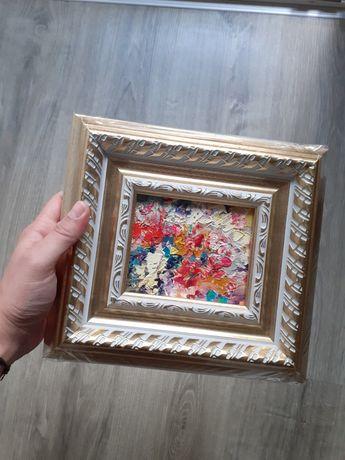 НОВА Уникална малка картина с маслени бои - импресия