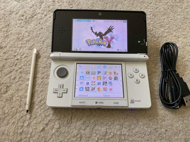 Nintendo 3DS MODAT cu 21 jocuri : MARIO, 4 x ZELDA , POKEMON X Y ETC