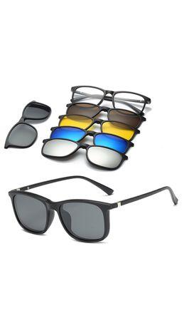 Солнцезащитные очки 6 в 1 (магнитные)