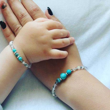 Set brățări mamă-fiică