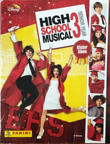 Vand / schimb abtibilduri cartonase colectie High School Musical 3