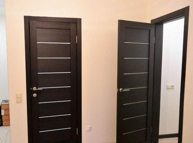 Установка межкомнатных дверей,багеты