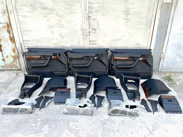 Велюровые обшивки на BMW E34 БМВ Е34