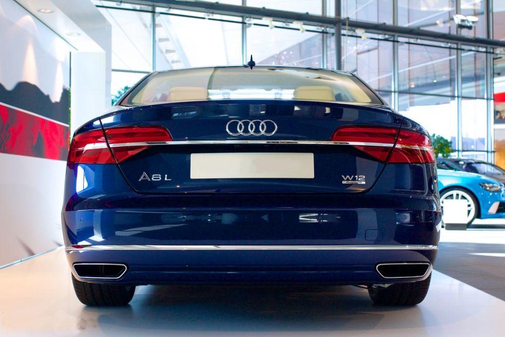 Difuzor Bara Spate si Tobe Finale Audi A8 D4 4H (10-14) W12 Design Suceava - imagine 1
