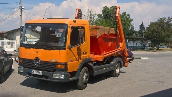 Доставка и извозване на контейнери за строителни отпадъци