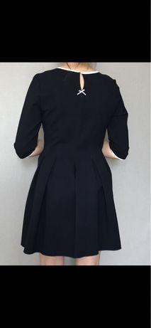 Платье из плотного трикотажа MIU MIU