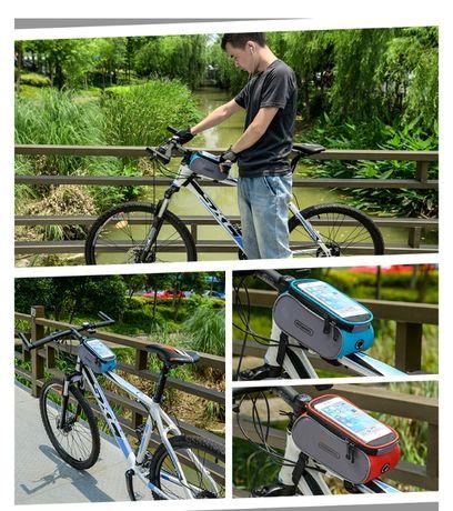 Roswheel borseta cadru bicicleta telefon 6.0 inch 1.5l geanta
