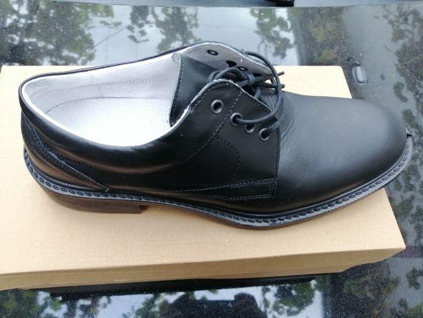 Pantofi de piele de bovina, interior/exterior, negri! CALITATE!!!