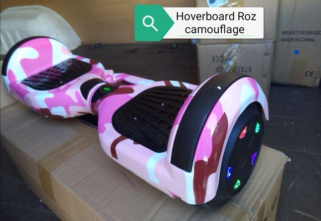 Hoverboard Roz camouflage quality