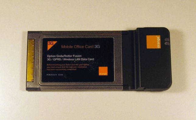 Modem internet 3G PC Card PCMCIA