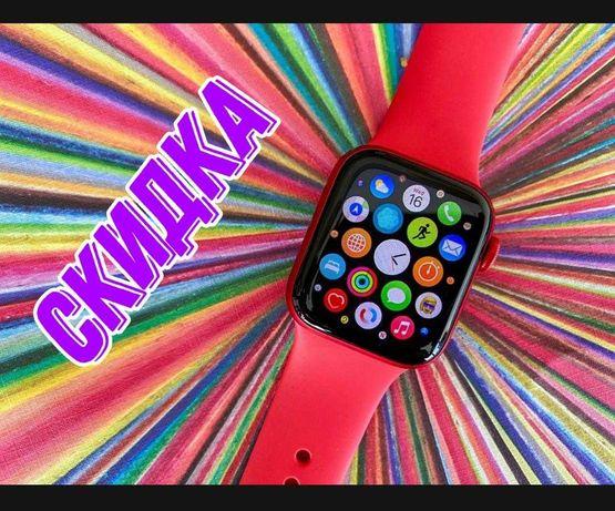 смарт часы apple watch 7 купить цена эпл вотч 6  Бесплатно доставка