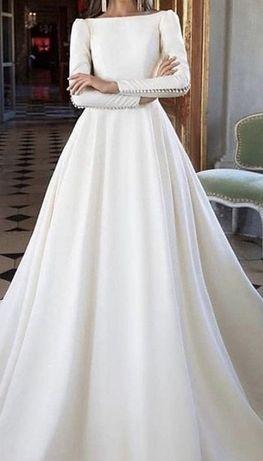Продам своё шикарное свадебное платье