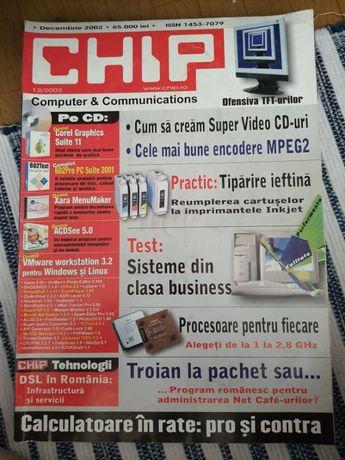 Colectie reviste CHIP, anii 2002-2007