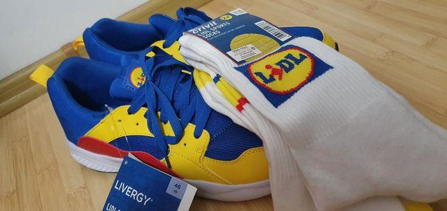 Adidasi LIDL 46(foarte rari) 2500 de euro pe Ebay