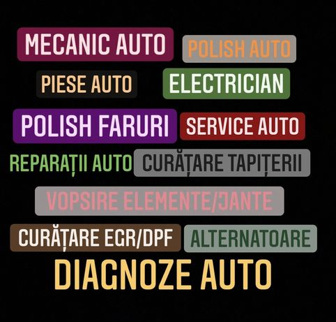 SERVICE AUTO   mecanic auto   diagnoza auto    polish faruri