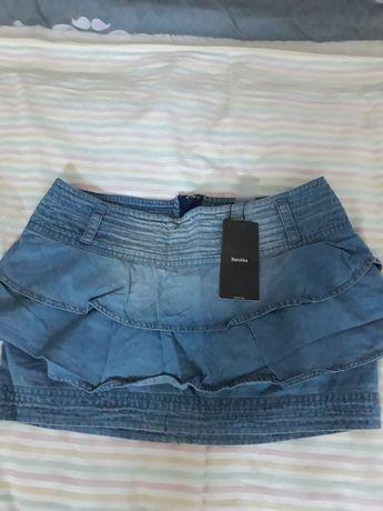 Продам джинсовые юбку