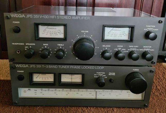 Linie audio vintage Sony Wega amplificator tuner