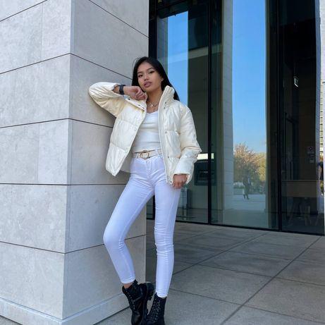 Зимние куртки:  Ткань: эко кожа