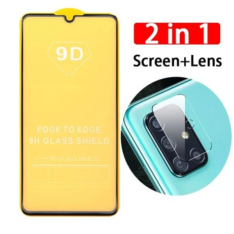 9D Стъклен Стъклен Протектор Samsung A01/A31/A41/A51/A71/A91 цени