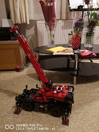 Lego technic 42082 Macara teren 4x4